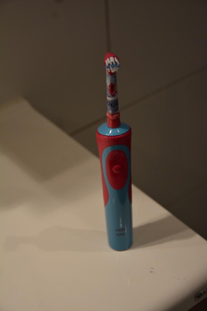 En frostig eltandborste från Oral-B