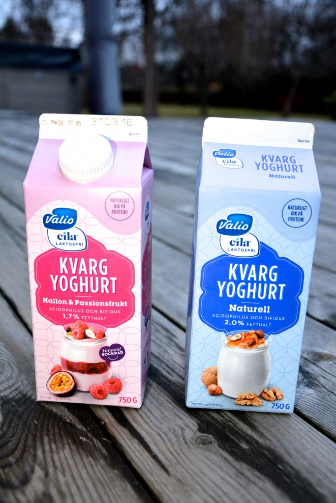 Kvarg och yoghurt blir kvargyoghurt