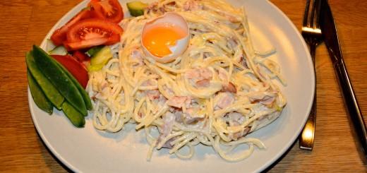 Magrare och mer klimatsmart Spaghetti Carbonara