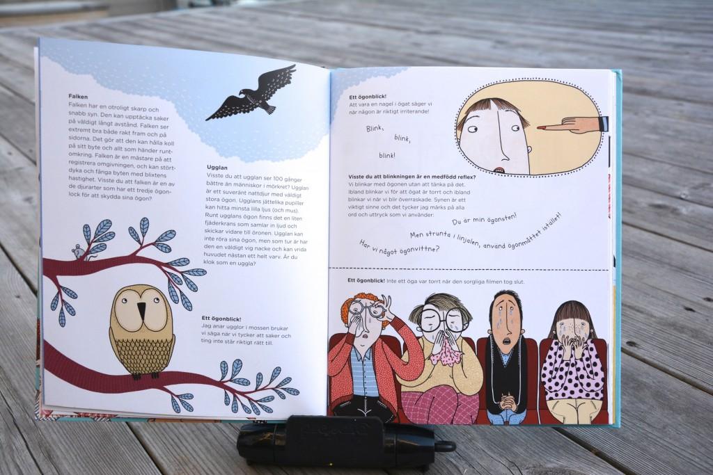 Text av Valentina Villarreal Thibblin och illustrationer av tecknaren Mia Nilsson