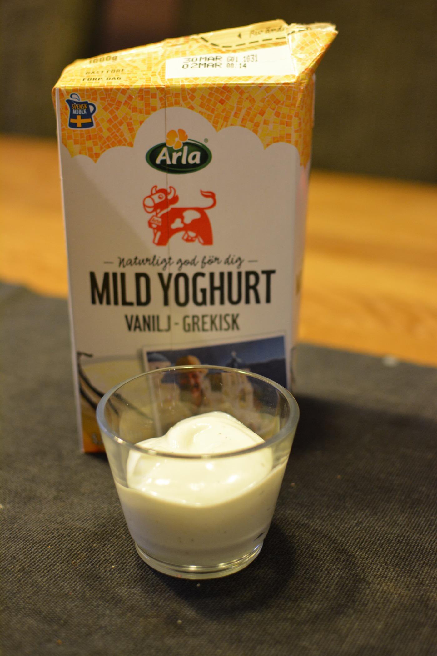 grekisk yoghurt med honung