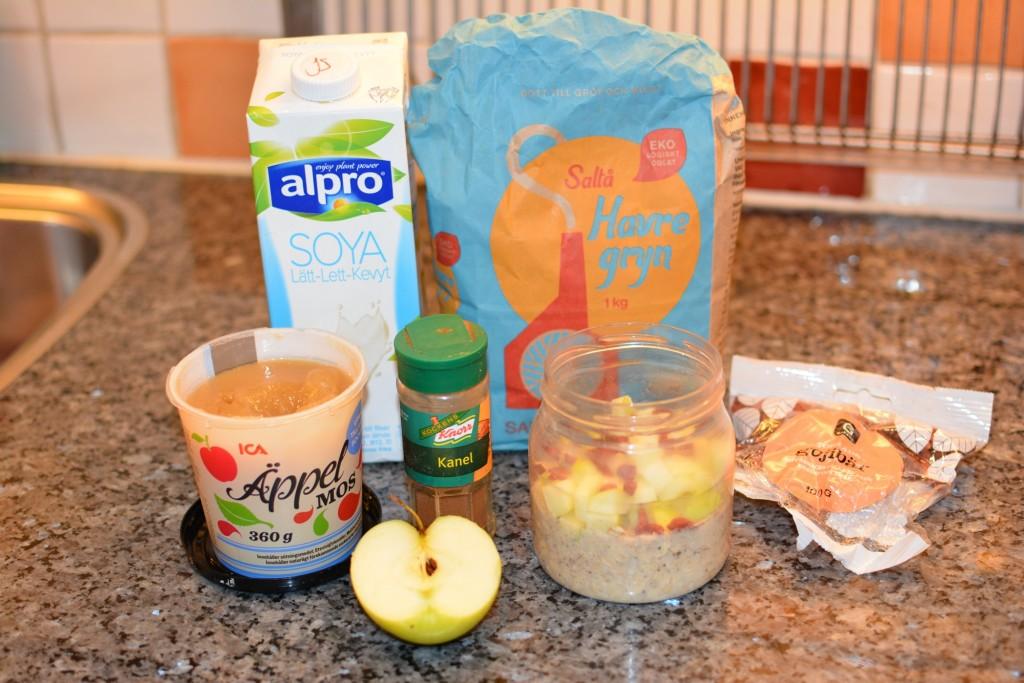En hälsosam frukost med Overnight Oats