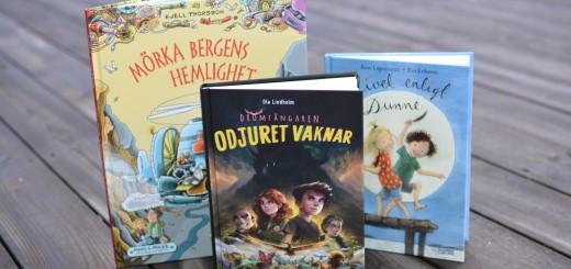Nya barnböcker från Bonnier Carlsen