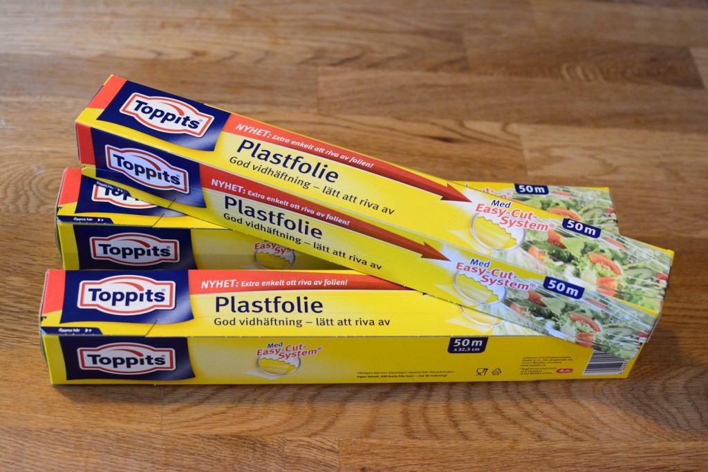 Plastfolie från Toppits