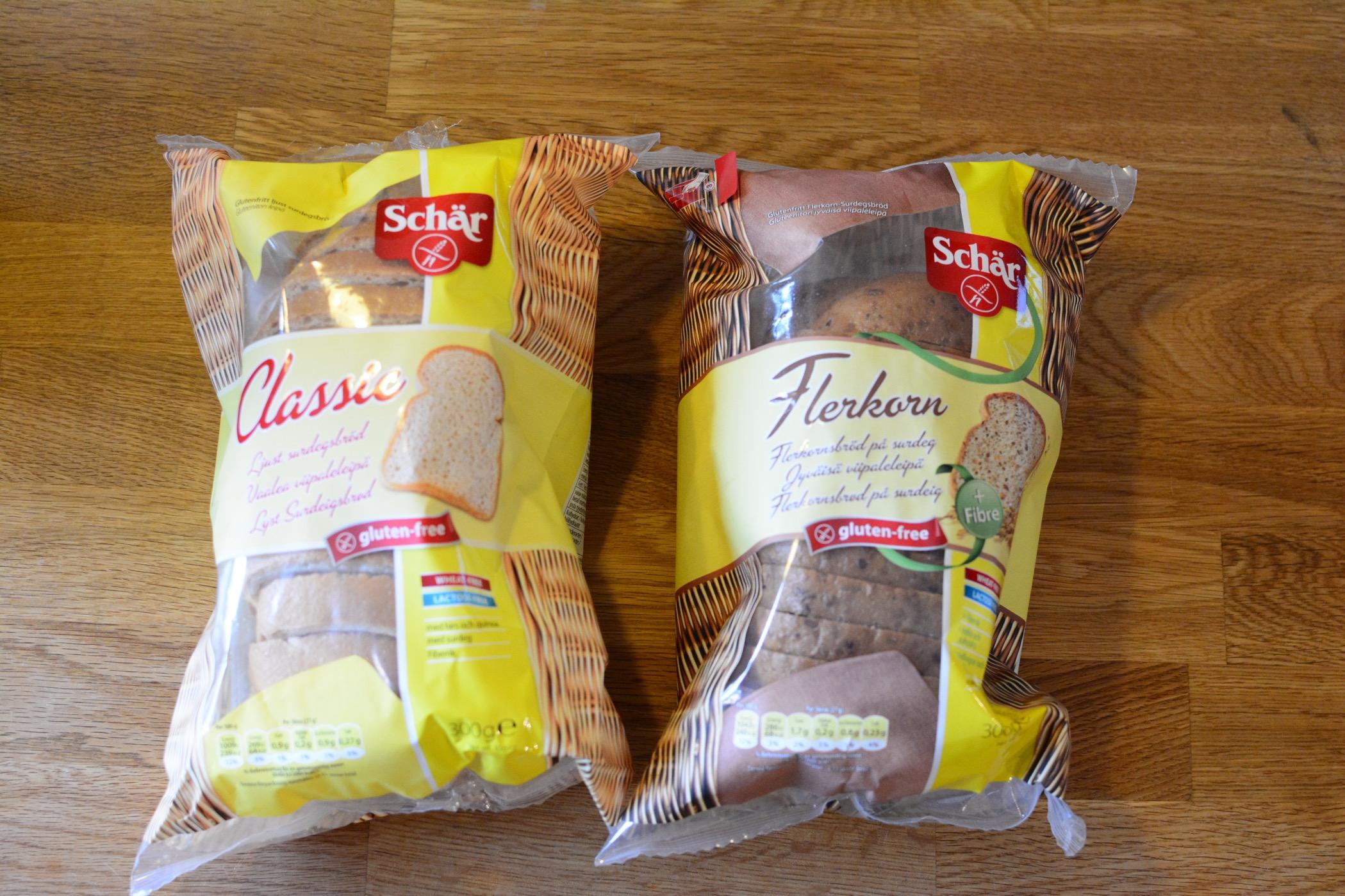 schär glutenfritt bröd