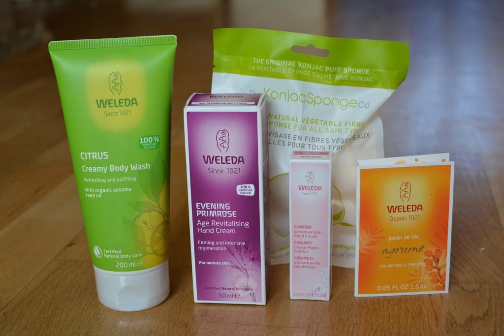 Härliga naturliga och ekologiska produkter från Weleda