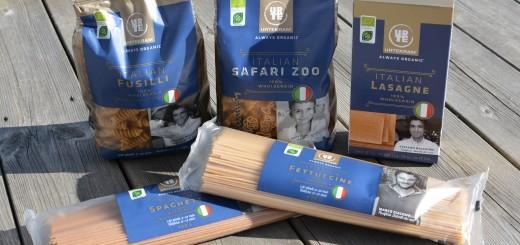 Italiensk ekologisk fullkornspasta