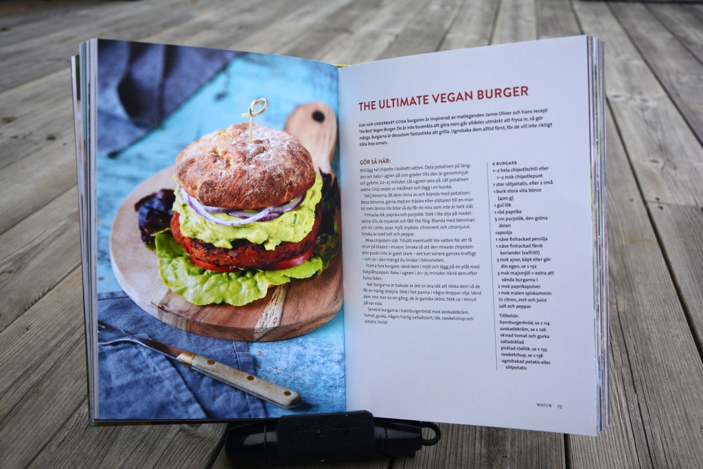 The ultimate vegan burger