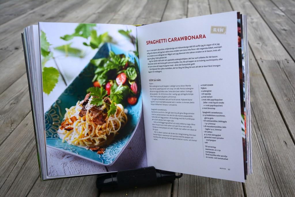 Spaghetti carawbonara