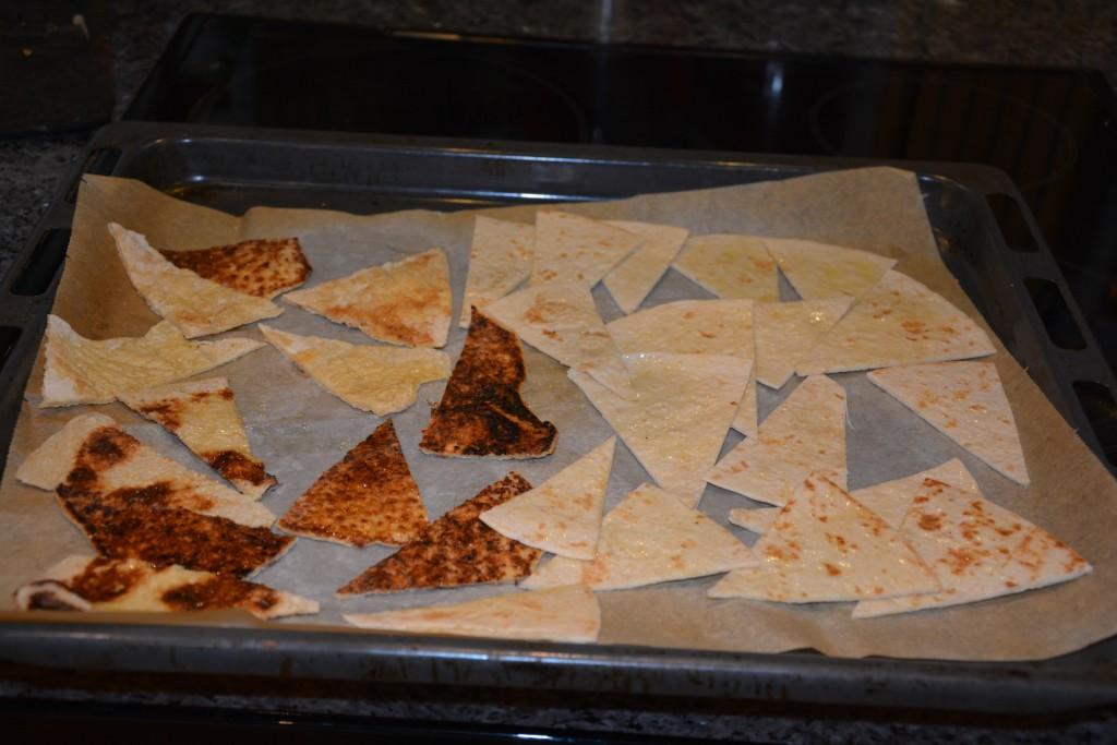 Tortillabröd ska bli nyttiga nachochips