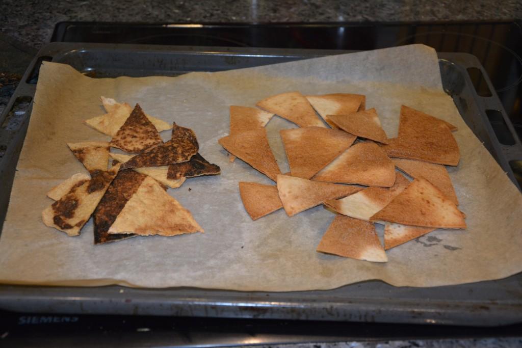 Färdiga nyttiga nachochips