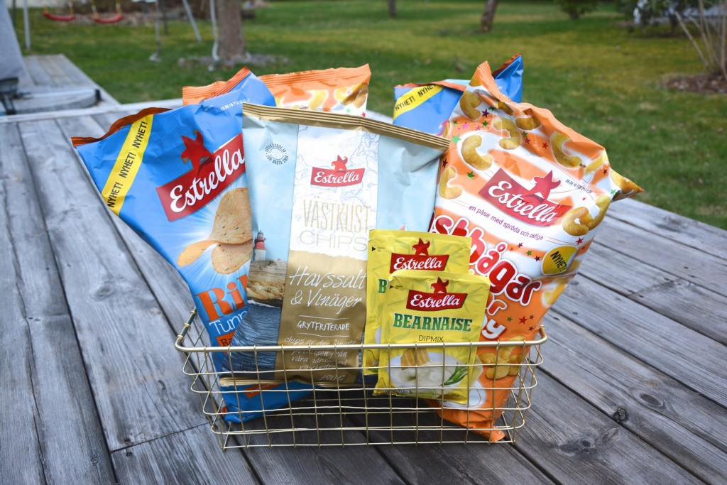 Jessica tipsar - Nya snacks från Estrella