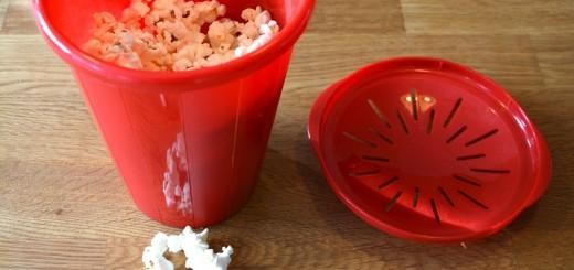 Njut av nyttiga popcorn!
