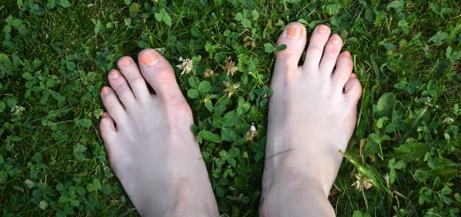 Gröna sommarfina fötter!