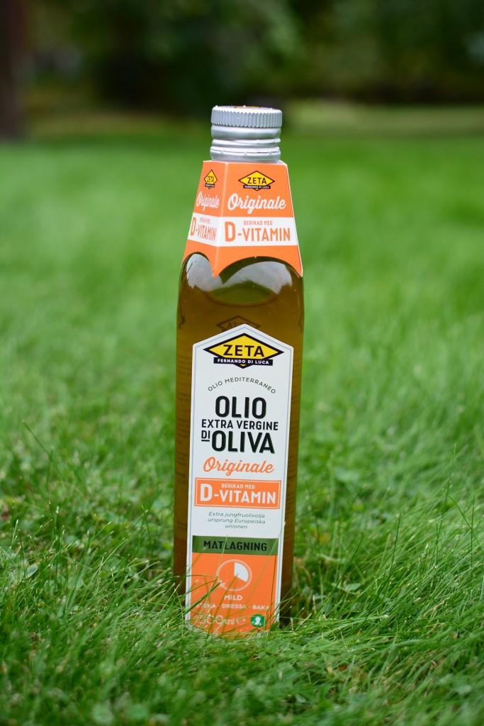 D-vitaminberikad olja