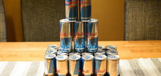 Red Bull är perfekt att ta när tröttheten smyger sig på!