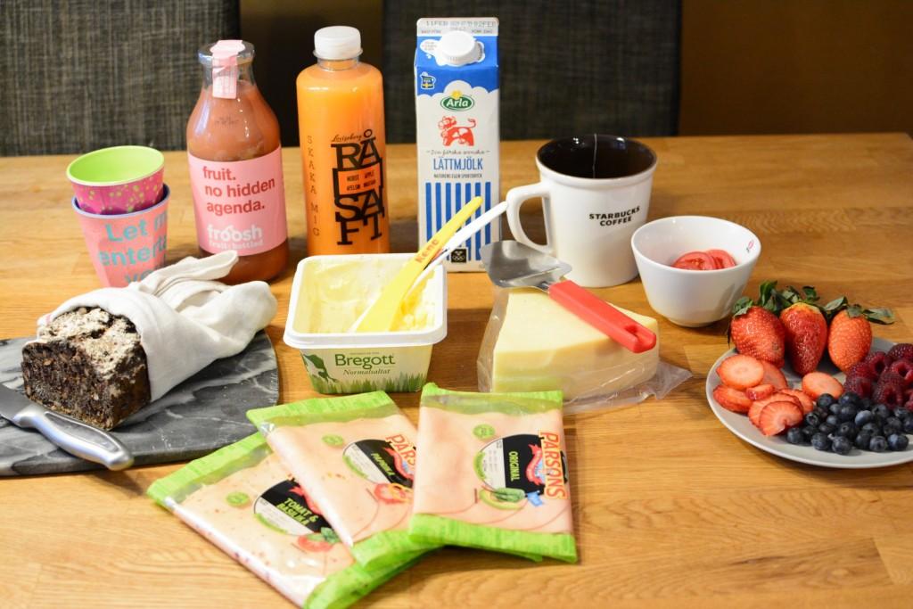 En vegetarisk frukost som heter duga!