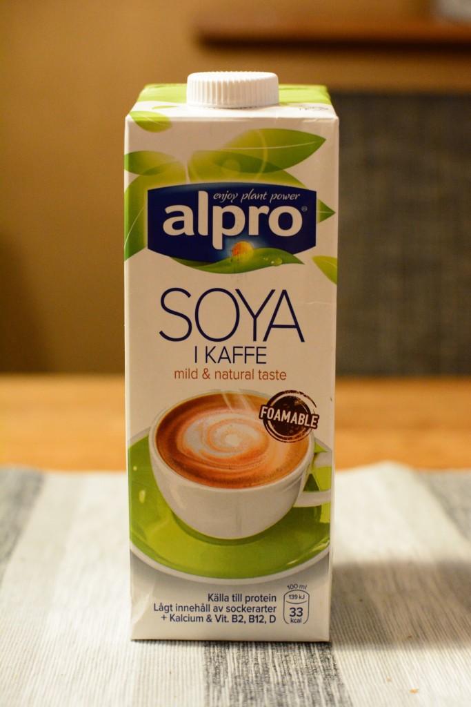 Alpro i kaffe
