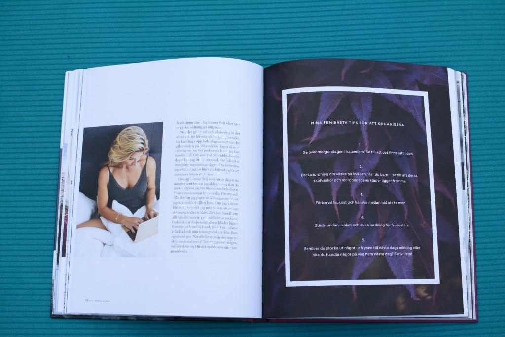 Varje kapitel avslutas med kloka tips och råd från Kristin.