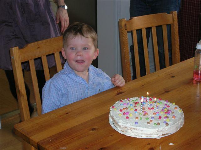 Gustaf 3 år