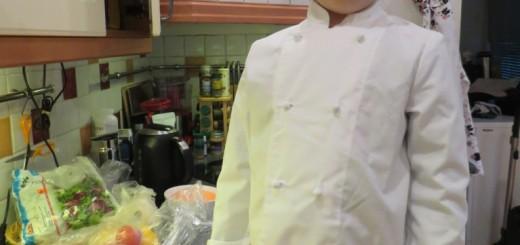 Gustaf i köket