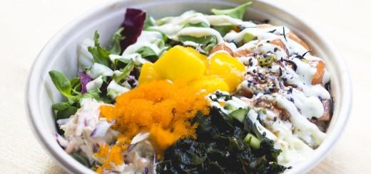 Poké Bowls ser nästan ut som min koreanska favorit Bibimbap!