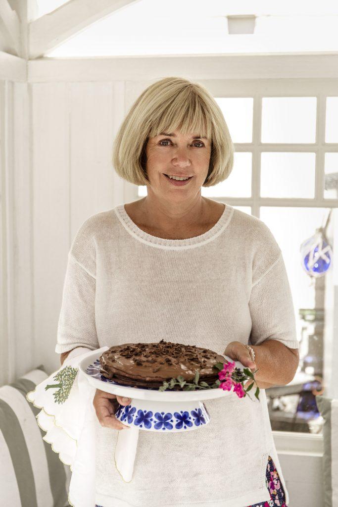 Mamma Helen bjuder både på recept och spännande anekdoter.