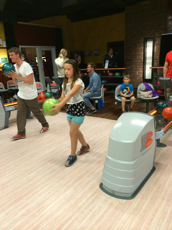 Först ut på bowlingbanan