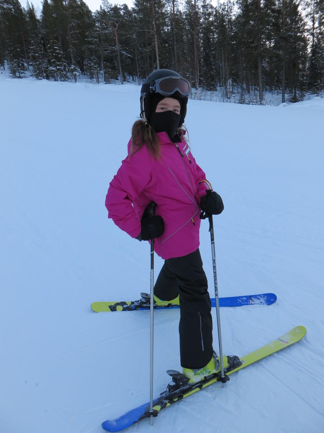 Filippa i slalombacken