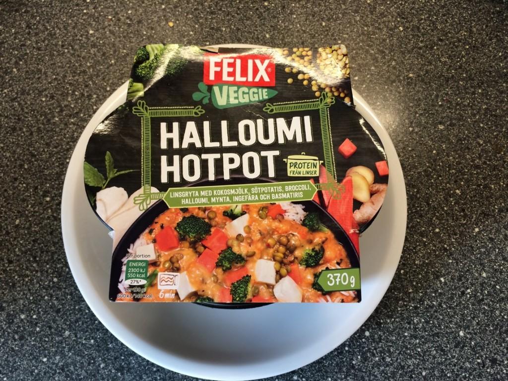 Felix Veggie Halloumi Hotpot
