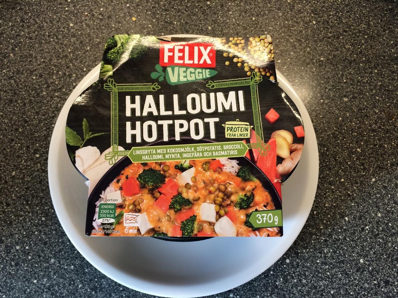 halloumi hotpot recept