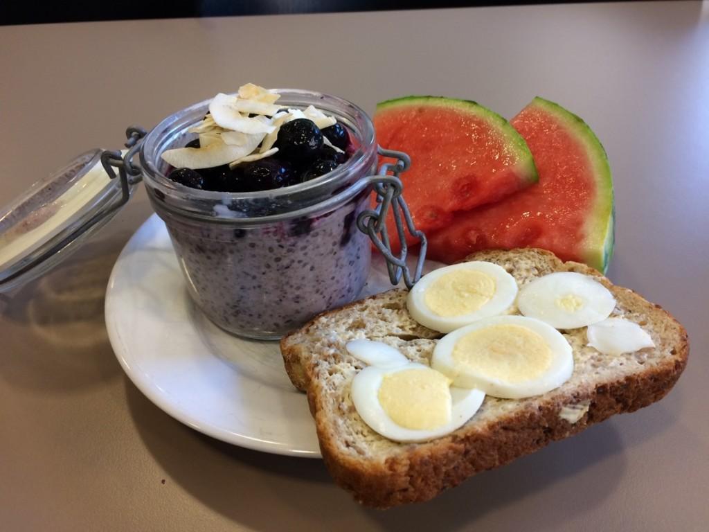 Frukosten är serverad!