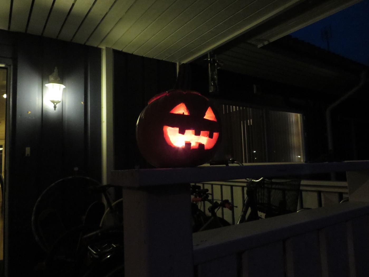 Välkommen på Halloween-middag alla gastar och spöken