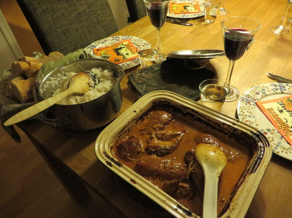 Middagen är serverad!
