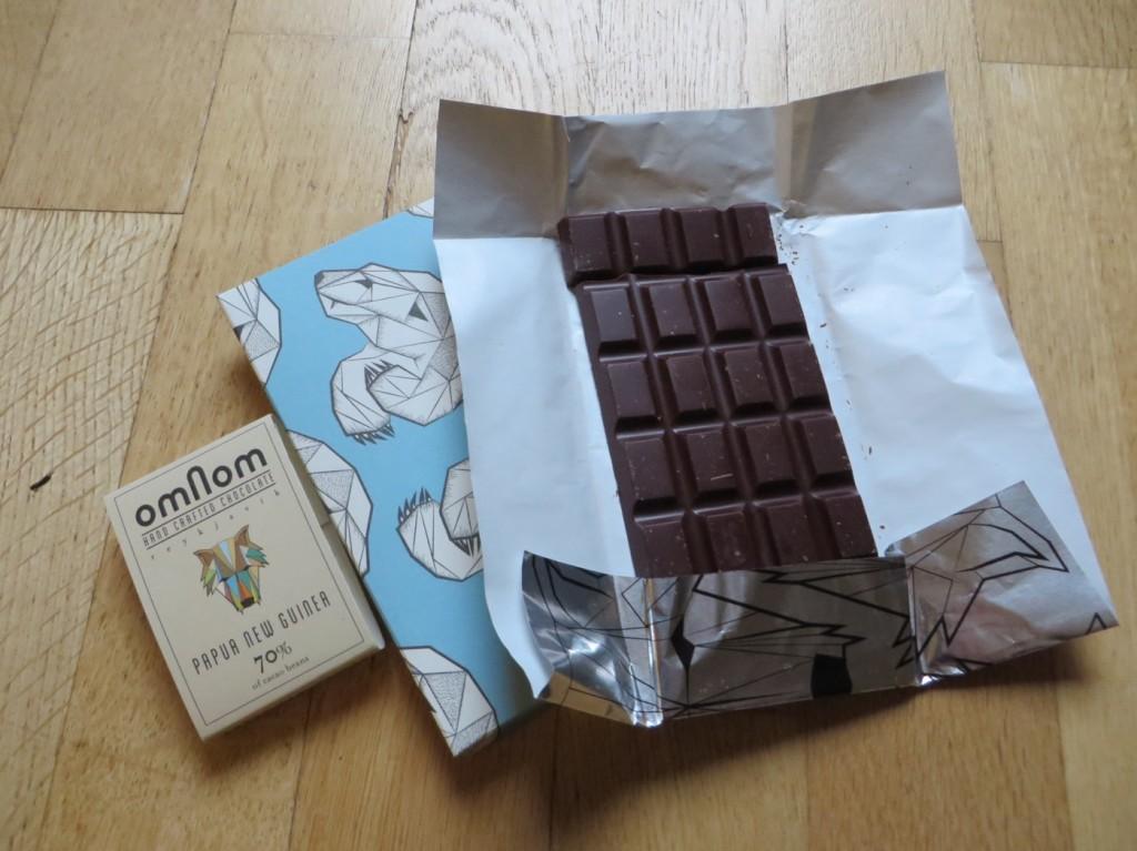 God mörk rökig choklad