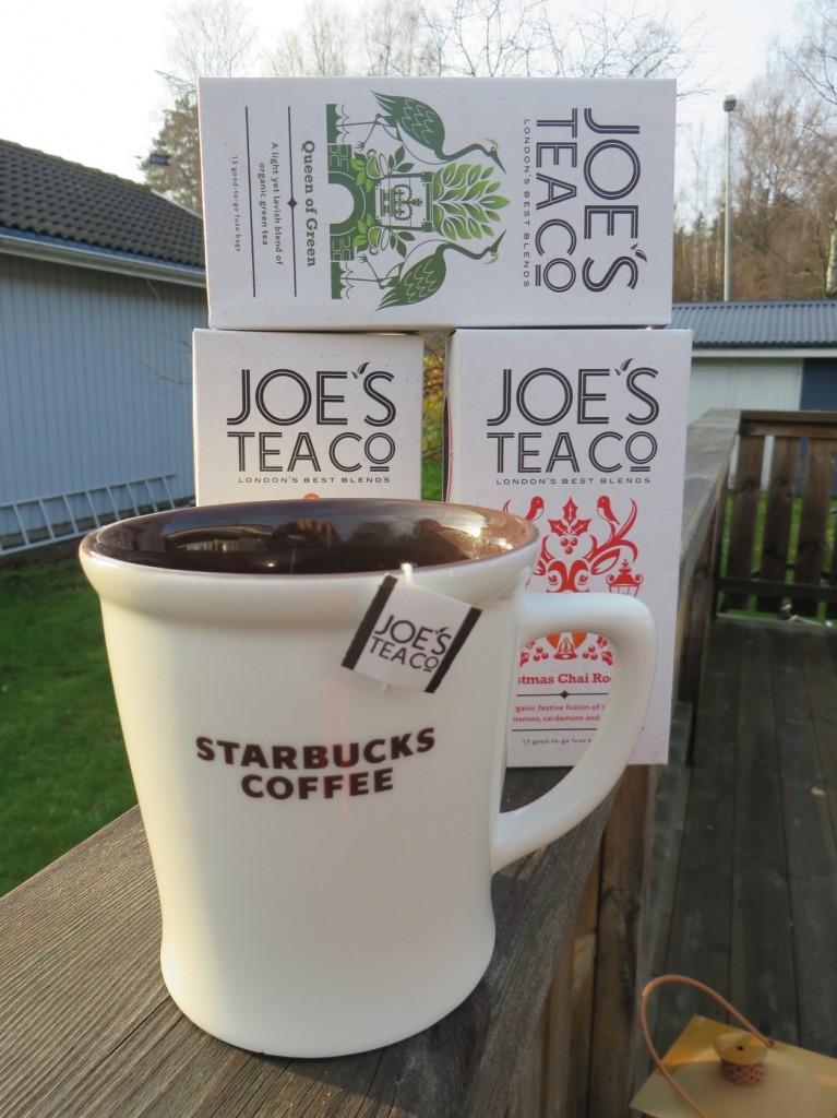 En välsmakande tepaus med bästa teet från Joe's tea