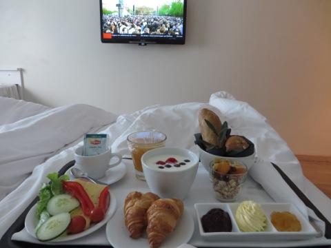 Frukost och morgontv