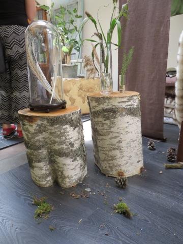 Inslag från skog och mark