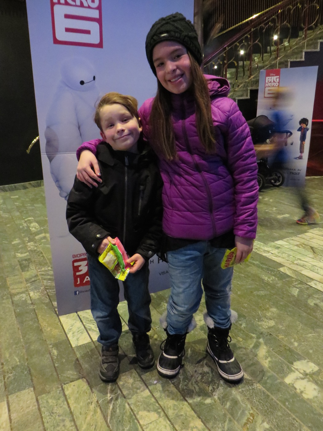 Galapremiär på Big Hero 6!