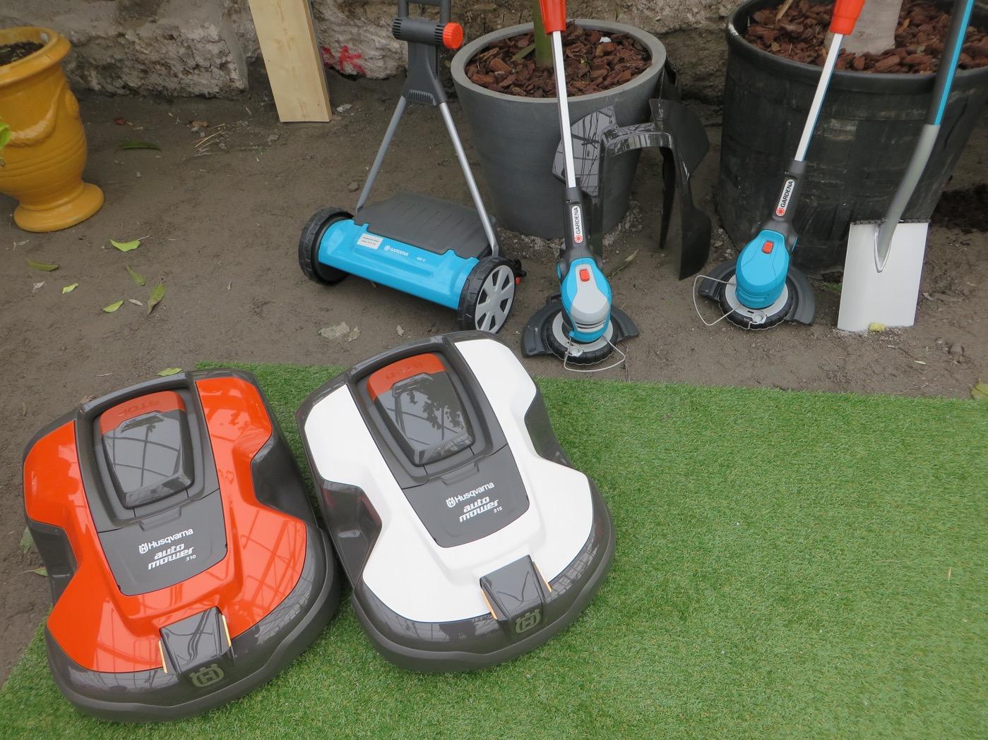 Robotgräsklippare