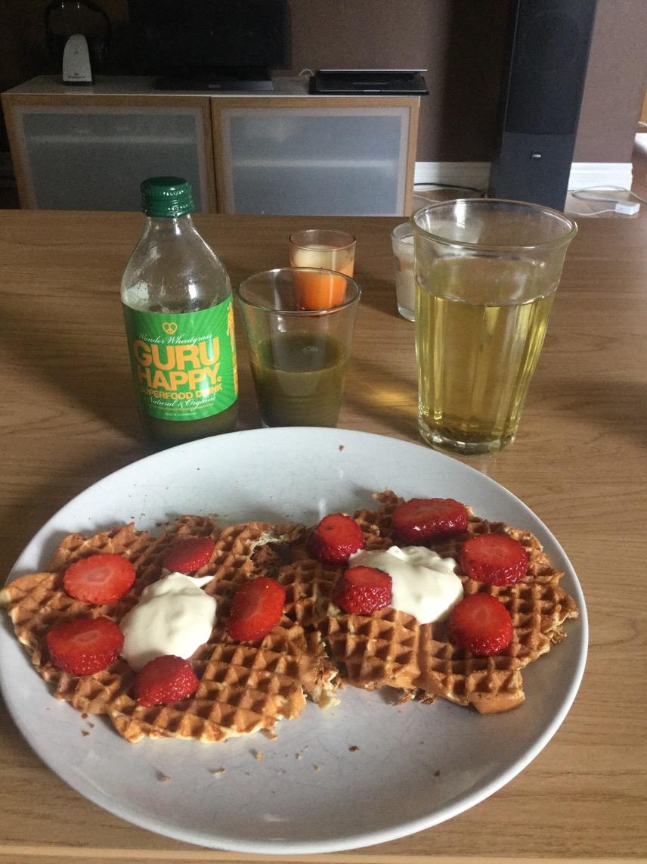 Underbart god, mättande och nyttig frukost!