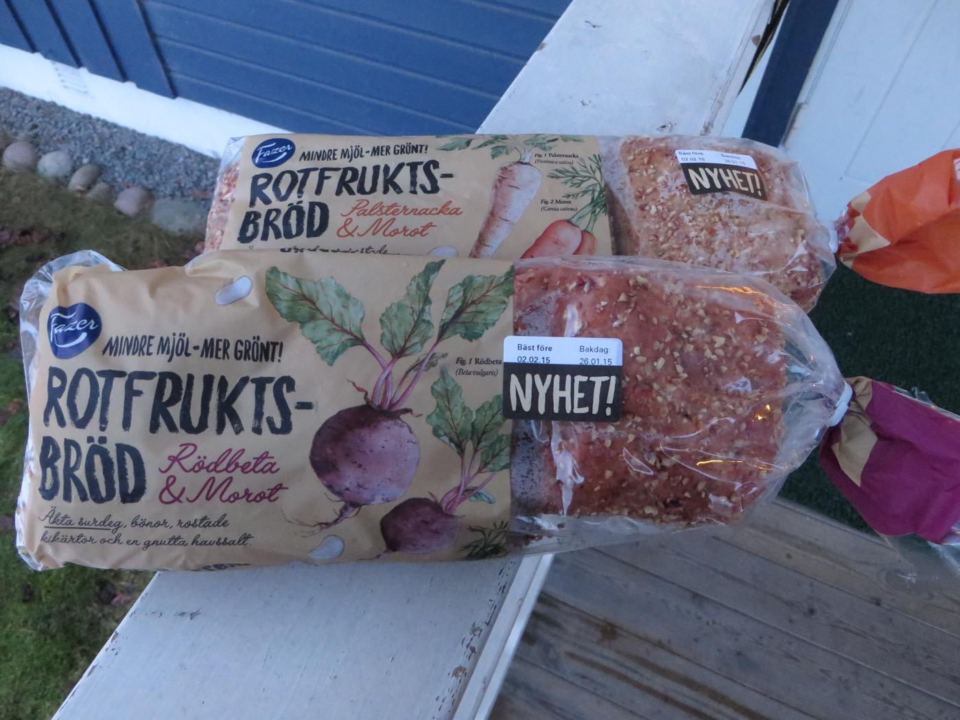 Spännande rotfruktsbröd