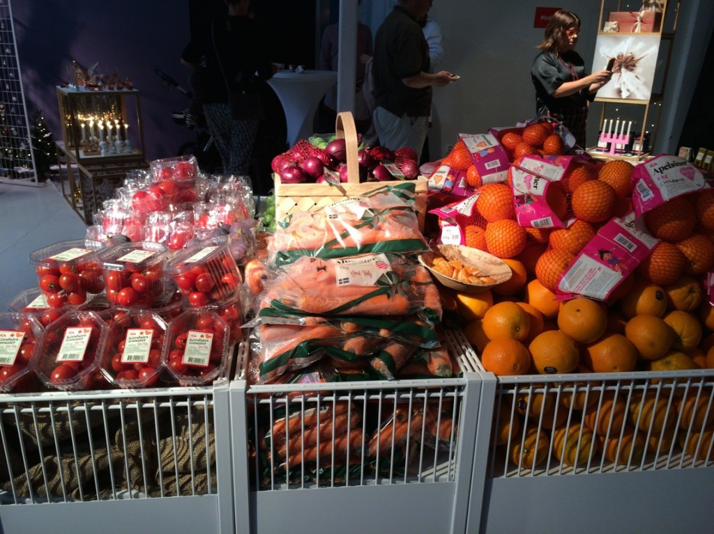 Ica satsar på mycket frukt och grönt