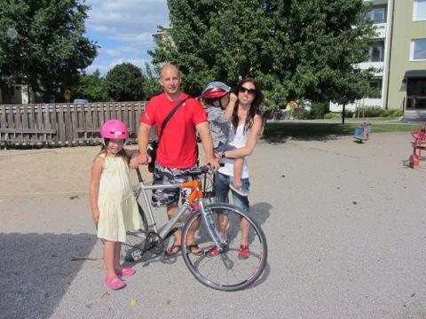 Familjen Sundberg - snart i en lekpark nära dig!!!