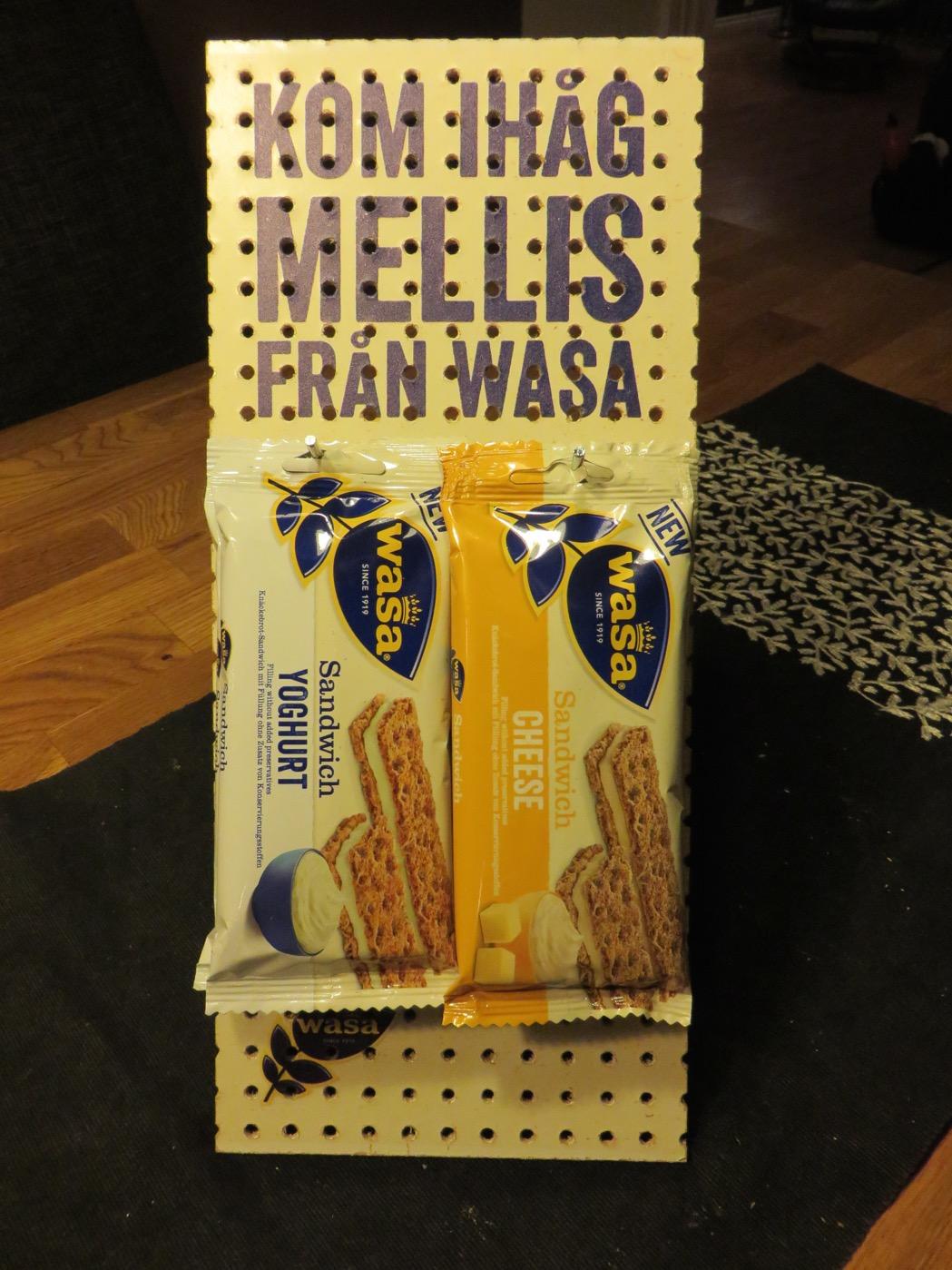 Mellanmål on-the-go från Wasa