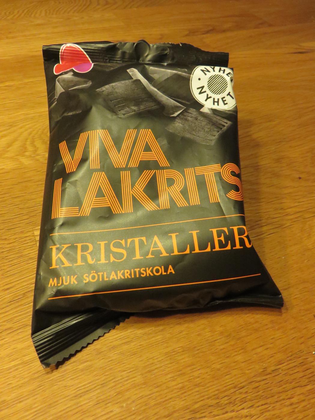 Viva Lakrits Kristaller