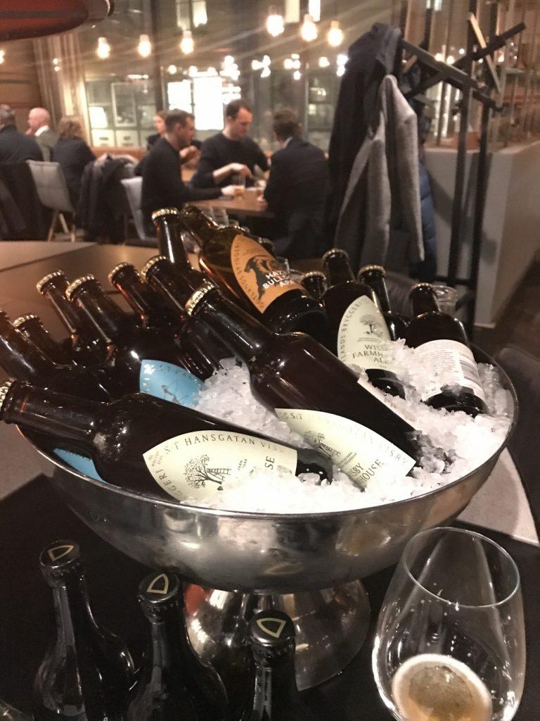 Ölen kom från Gotlands bryggeri.