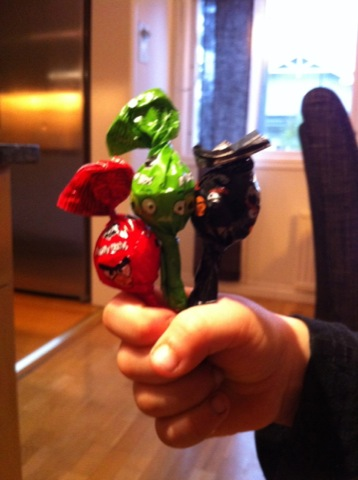 Angry Birds-klubbor