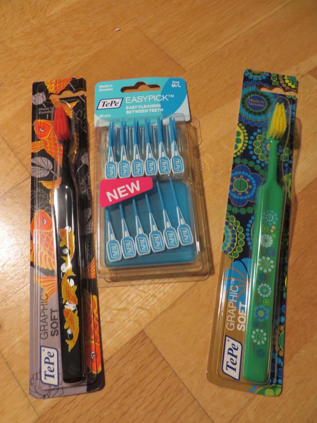 Håll munnen ren och fräsch med produkter från TePe