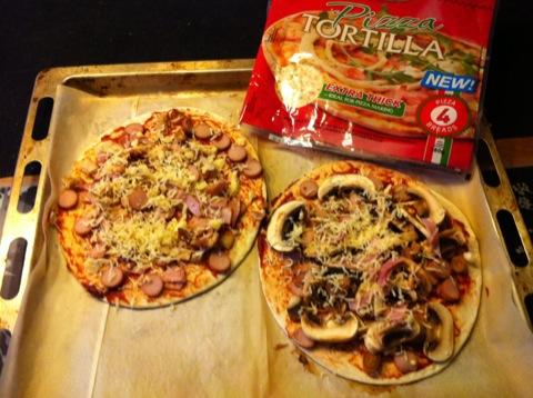 Pizza Tortilla a la Filippa